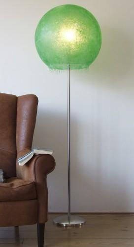 Staande groene maanlamp