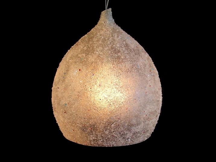 Peervormige maan lamp