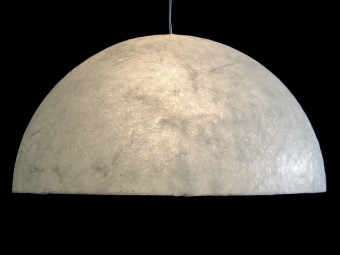Halve maan lamp